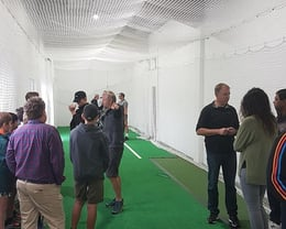 New indoor wicket revealed
